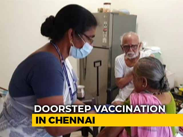 Video : In Chennai, Get Covid Vaccine At Your Doorstep