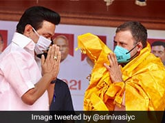"""Tamil Nadu Has Voted For Change"": Rahul Gandhi Congratulates MK Stalin"