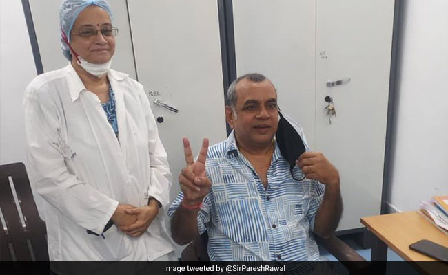 Paresh Rawal Tests COVID-19 Positive Weeks After First Vaccine Shot