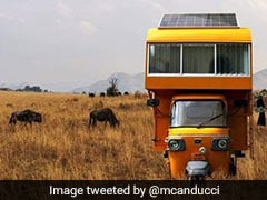 Architect Builds Mobile Home On Top Of Autorickshaw, Impresses Anand Mahindra