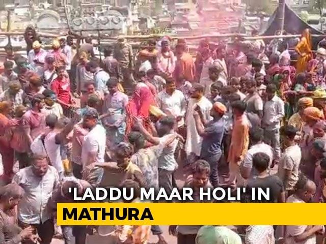 Video : As Covid Cases Rise, Uttar Pradesh Sounds Alert Over Holi Celebrations