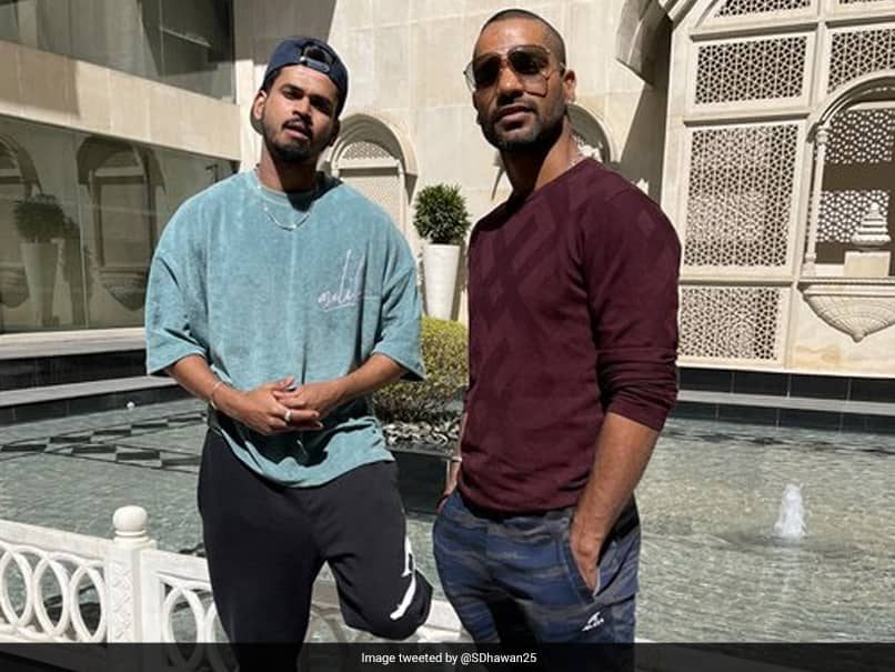 India vs England: Shikhar Dhawan Poses With Shreyas Iyer, Joins Team Ahead Of T20Is. See Pic