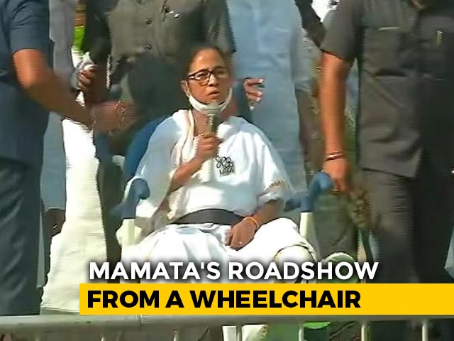 Video : Cop Suspended By Election Body Over Mamata Banerjee's Injury At Nandigram