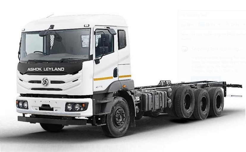 It is built on the latest AVTR modular truck platform