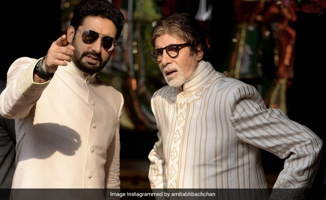 In Post For Abhishek, Amitabh Bachchan Writes What Happens 'When Your Son Starts Wearing Your Shoes'