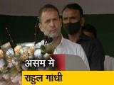 Videos : असम चुनाव : दो दिनों के दौरे पर राहुल गांधी, चाय स्टेट कार्यकर्ताओं को भी किया संबोधित