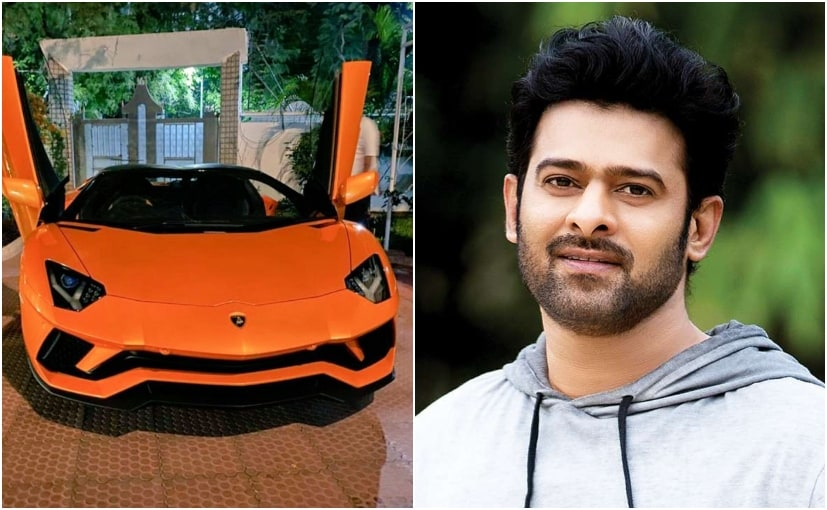 Images and videos of Prabhas' new car are viral on social media