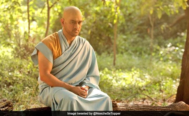 MS Dhoni's Bald Look Sparks A Meme Fest On Twitter