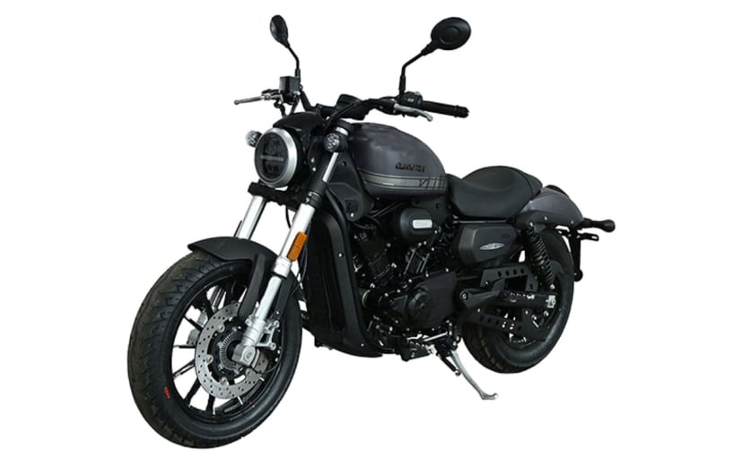 The QJMotor SRV300 has traditional Harley-Davidson styling