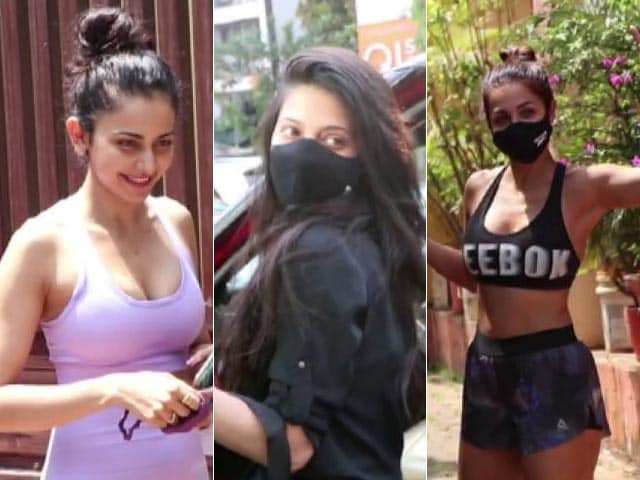 Video : Catching Up With Rakul Preet Singh, Malaika Arora And Shruti Haasan