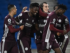 Premier League: Leicester City Come From Behind To Beat Brighton, Go Second In Table