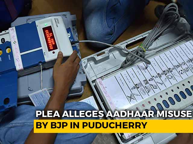 "Video : ""Can Puducherry Polls Be Deferred?"": High Court On Complaint Against BJP"