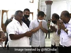 Rahul Gandhi Offers Prayers In Kerala's Lord Ayyappa Temple, Vavar Shrine