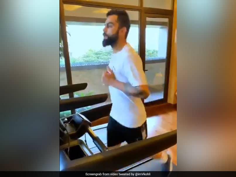 """No Rest Days"": Virat Kohli Begins Training For IPL 2021. Watch"