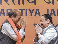 """Golden Moment"": Former Trinamool MP Dinesh Trivedi Joins BJP"