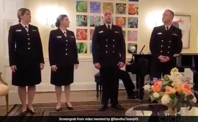 Watch: US Navy Members Sing Hindi Song From Popular Bollywood Movie