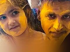 "Holi 2021: On Akshay Kumar And Twinkle Khanna's Instagram Palettes, Nitara Adds A Splash Of ""Joy"""