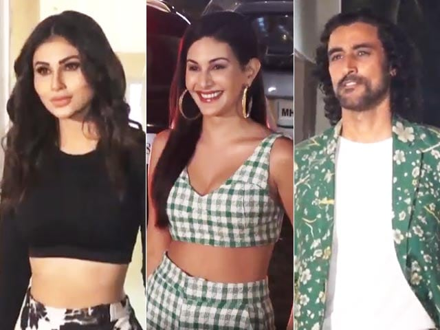 Video : Mouni Roy, Amyra Dastur And Kunal Kapoor Promote <i>Koi Jaane Na</i>