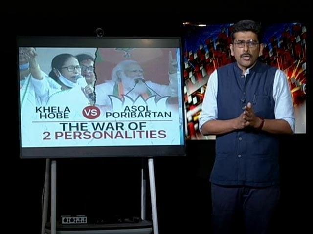 Video : 'Khela Hobe' vs 'Asol Poribartan': The War Of Two Personalities In Bengal