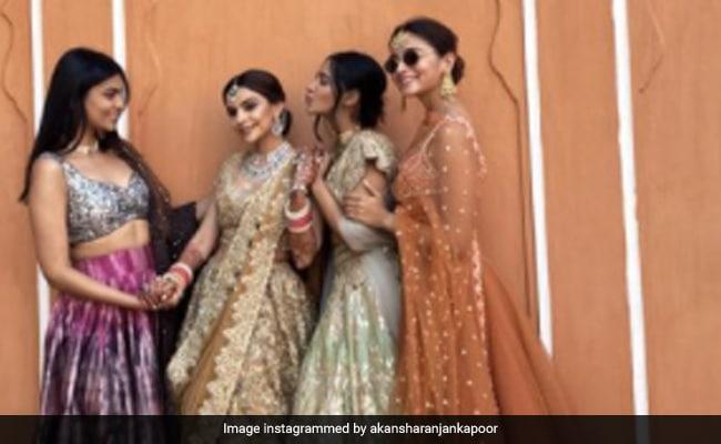 ICYMI: Alia Bhatt Stuns In Orange Lehenga At Her Friend's Wedding