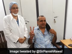 Actor-Politician Paresh Rawal Receives First Dose Of Covid Vaccine