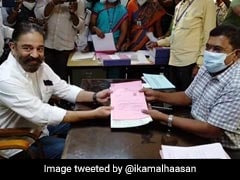 Kamal Haasan Files Nomination From Coimbatore South For Tamil Nadu Polls