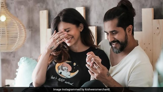 Kishwer Merchant Records Suyyash Rai Cooking Mom-Special Kheer For Her Pregnancy Diet