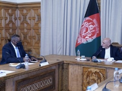 US Defense Secretary Meets Afghan President Amid Peace Process Review