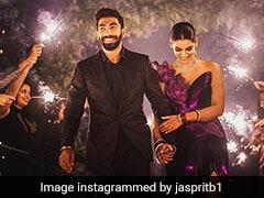 """""""Absolutely Magical"""": Jasprit Bumrah Shares Photos With Wife Sanjana Ganesan"""