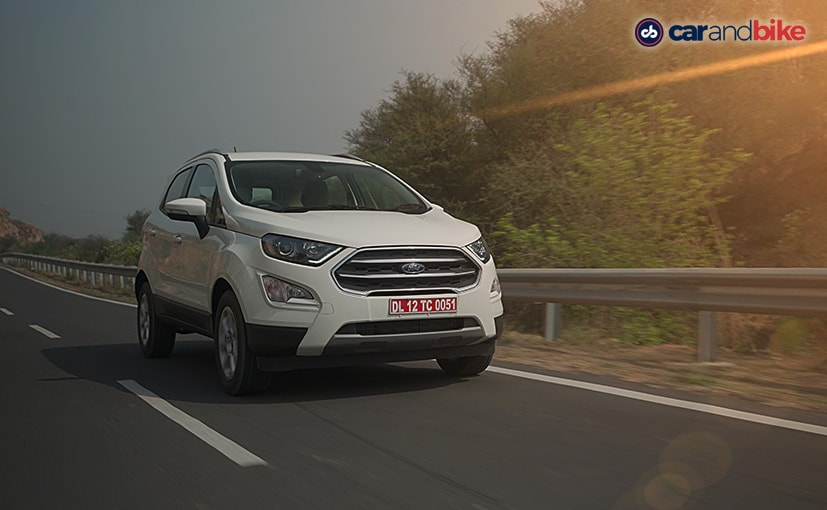 The new Ford EcoSport SE trim is based on the Titanium variant of the subcompact SUV