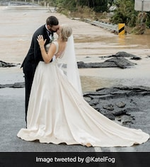 Catastrophic Floods Couldn't Stop This 'Miracle' Wedding