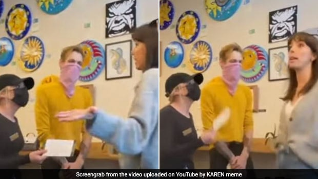 Watch: Waitress Quits Job As Customer Refuses To Wear Mask In Shocking Video