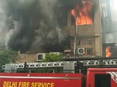 Fire Breaks Out At Garment Factory In Delhi's Okhla