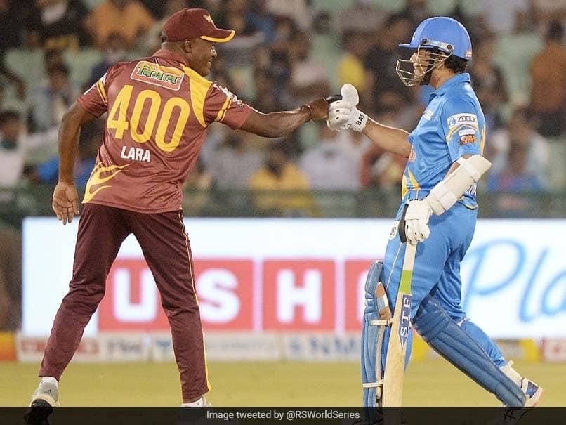 "Road Safety World Series: Sachin Tendulkar Hails India, West Indies Legends ""Competitive Spirit"""
