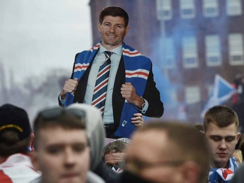Steven Gerrard Leads Rangers To First Scottish Premiership Title In 10 Years