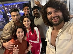 Trending: Pics From Vijay Deverakonda, Sara Ali Khan And Karan Johar's Get-Together