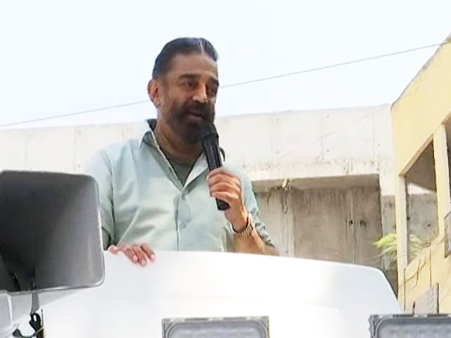 "Video : ""Traitor,"" Says Kamal Haasan As Party's No 2 Quits After Poll Debacle"