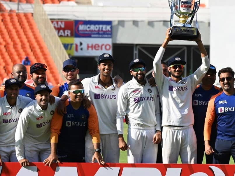 India vs England: After Series Win, Virat Kohli Hands Over Trophy To Team India Newcomers