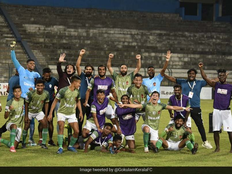 I-League: Dennis Antwis Brace Sends Gokulam Kerala To Top Of The Table