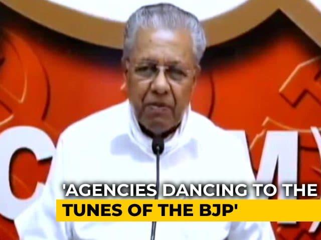 "Video : ""Agencies Dance To Their Tunes"": Pinarayi Vijayan's Swipe At Centre"