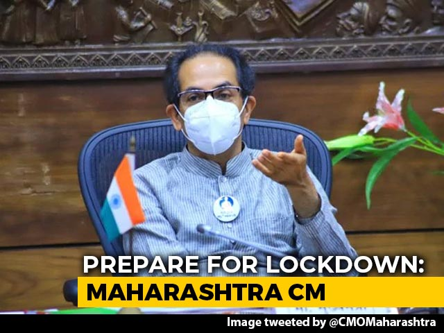 Video : Prepare For Lockdown, Covid Rules Not Being Followed: Maharashtra Chief Minister