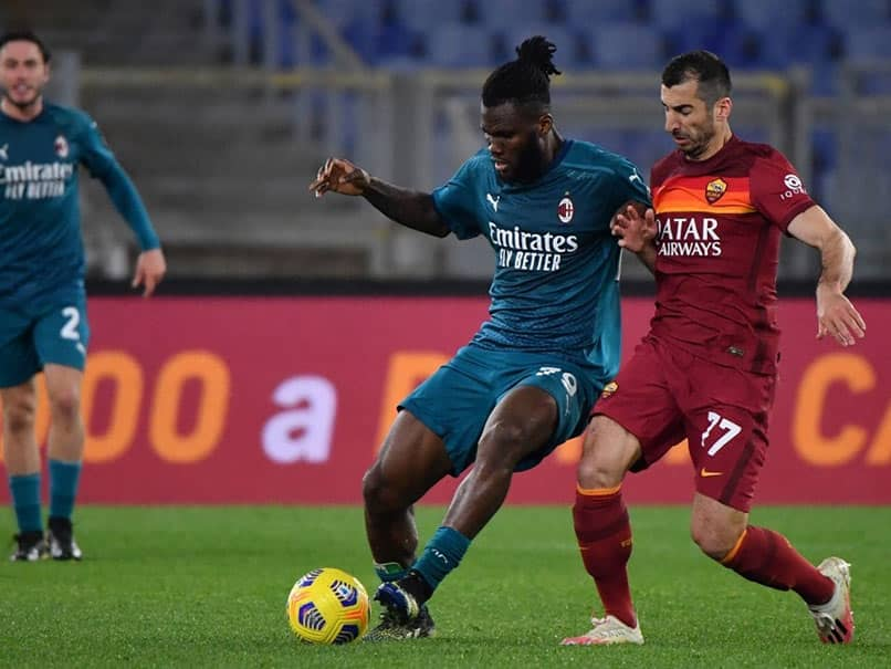 Serie A: AC Milan Bounce Back Against Roma, Win 2-1
