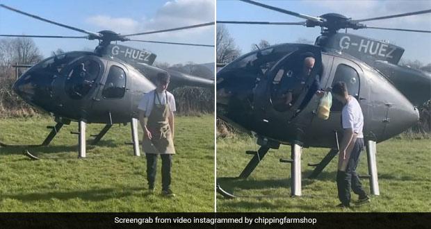 UK Man Flies 130km Via Helicopter To Eat Favourite Sandwich In Lockdown