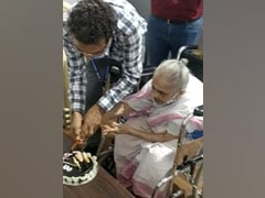 Mumbai Woman Gets First Shot Of Covid Vaccine On Her 100th Birthday