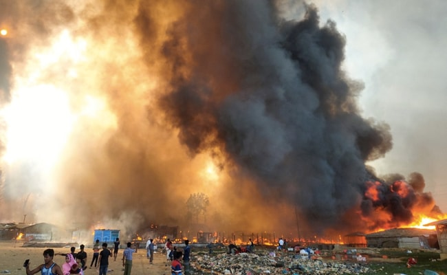 Fire Destroys Thousands Of Homes In Rohingya Refugee Camps In Bangladesh