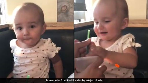 Watch: Baby Tries Chocolate Milk, Her Adorable Reaction Will Win You Over!