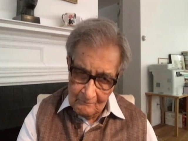 "Video : India Has Had ""Democratic History"" Since Long: Amartya Sen"