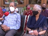 Video : We Got Shots: Ex Air Force Pilot, Age 91, Gets Vaccinated, So Does Wife, 92