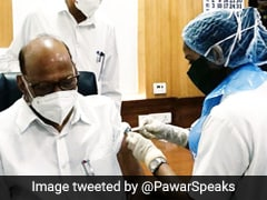 NCP Chief Sharad Pawar And Family Take First Dose Of COVID-19 Vaccine