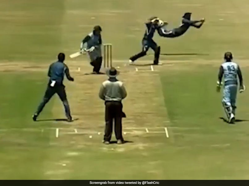 Watch: Slip Fielder Shows Stunning Anticipation And Reflexes To Complete Leg-Side Catch In South Afr.. - NDTVSports.com